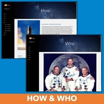 Apollo 11 Website - Multimedia Exploration of Man's First Step on the Moon