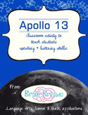Apollo 13   Hands-on activity for Beginning of the Year