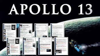 apollo 13 movie worksheet by scott harder teachers pay teachers. Black Bedroom Furniture Sets. Home Design Ideas