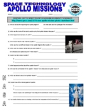 Apollo Missions 1-17 Webquest (NASA Space Technology)