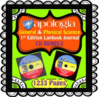 Apologia Biology General & Physical Science 1st Edition CD BUNDLE
