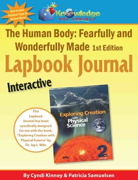 Apologia Exp Creation w/Physical Science 2nd Ed INTERACTIVE Lapbook Journal