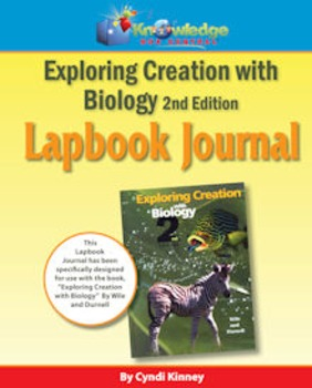 Apologia Exploring Creation With Biology 2nd Ed Lapbook Journal