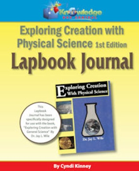 Apologia Exploring Creation With Physical Science 1st Ed Lapbook Journal