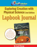 Apologia Exploring Creation With Physical Science 2nd Ed Lapbook Journal