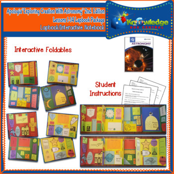 Apologia Exploring Creation w/ Astronomy 2nd Edition Lapbook Package