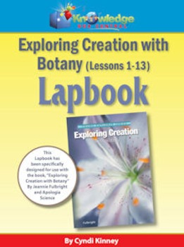 Apologia Exploring Creation w/ Botany Package Lessons 1-13 Lapbook