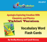 Apologia Exploring Creation w/ Chemistry & Physics Vocab F