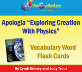 Apologia Physics 2nd Edition Vocabulary Word Flash Cards 2nd Edition