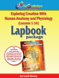Apologia Exploring Creation w/ Human Anatomy & Physiology Lapbook Package (1-14)