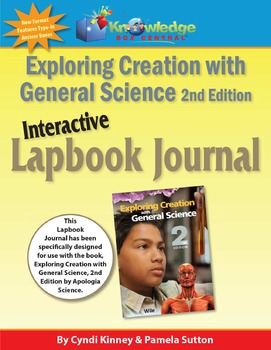 Apologia Exploring Creation w/General Science 2nd Ed INTERACTIVE Lapbook Journal