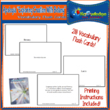 Apologia Exploring Creation with Botany Vocabulary Flash Cards