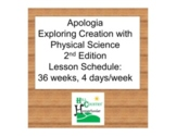 Apologia Exploring Creation with Physical Science 2nd Edit