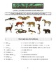Apologia Exploring Creation with Zoology 3 (Land Animals) Lessons 1-14 Tests