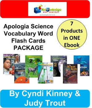 Apologia Flashcard Special Package