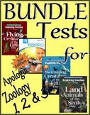 Apologia Zoology 1, 2, & 3 (Flying, Swimming, Land Animals