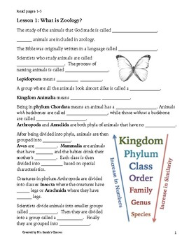 Apologia Zoology 1: Flying Creatures Student Notebook