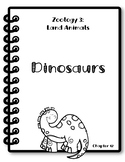 Apologia Zoology 3. Lesson 12. Dinosaurs. Research Packet