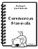 Apologia Zoology 3. Lesson 2. Carnivorous Mammals. Researc