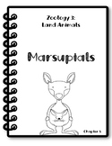 Apologia Zoology 3. Lesson 5. Marsupials. Research Packet