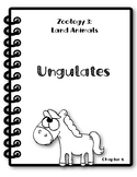 Apologia Zoology 3. Lesson 8. Ungulates. Research Packet