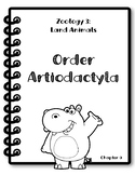 Apologia Zoology 3. Lesson 9. Order Artiodactyla. Research Packet