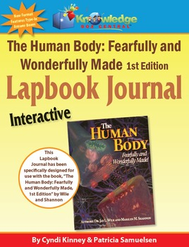 Apologia's Human Body 1st Ed INTERACTIVE Lapbook Journal