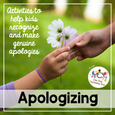 Making Apologies Activities