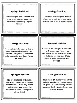 Apologizing: A Social Skills Lesson #kindnessnation