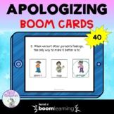 Apologizing (Saying Sorry) Boom Cards