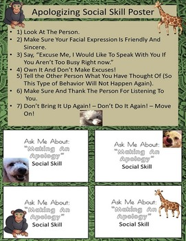 Apologizing Social Skill Rescue Dogs' Series ODD/Autism/ADHD/ELD