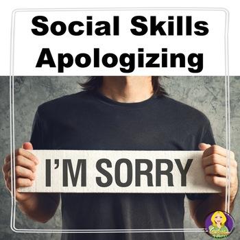 Apologizing Social Skills Lesson