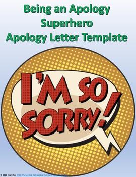 Apology Letter - Be an Apology Superhero