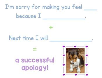 Apology Poster