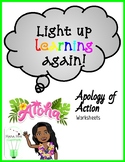 Apology of Action: Worksheets