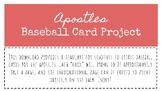Apostle Baseball Cards Template