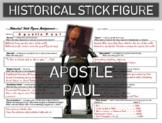 Apostle Paul (St. Paul) Historical Stick Figure (Mini-biography)