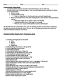 Apostle Paul documentary Worksheet and project