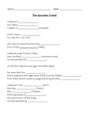 Apostle's Creed Tests