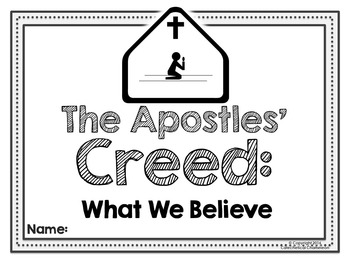 Apostles' Creed Booklet