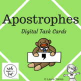 Apostrophe Boom Cards - Distance Learning