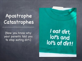 Apostrophe Catastrophes: A Memorable Lesson in Grammar