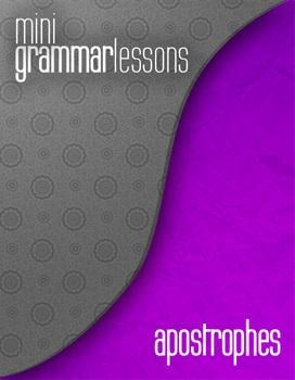 Apostrophe - Mini Grammar Lesson