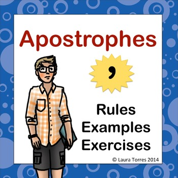 Apostrophes Power Point - Rules, Examples, and Exercise