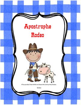 Apostrophe Rodeo