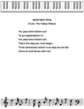 Apostrophe Song