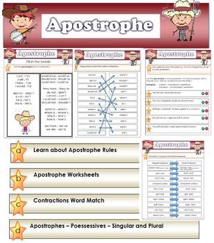 Apostrophe - Using Apostrophes in English