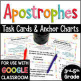 Apostrophes Activity - Task Cards and Anchor Charts