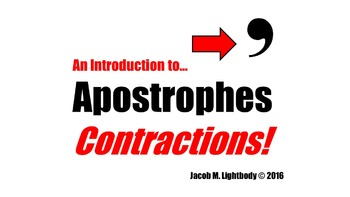 Apostrophes & Contractions