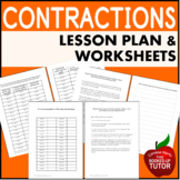 Apostrophes - Contractions Remediate Workbook Lesson Plan
